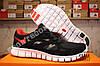Кроссовки Nike Free Run 2.0 Black Red Черные женские, фото 4
