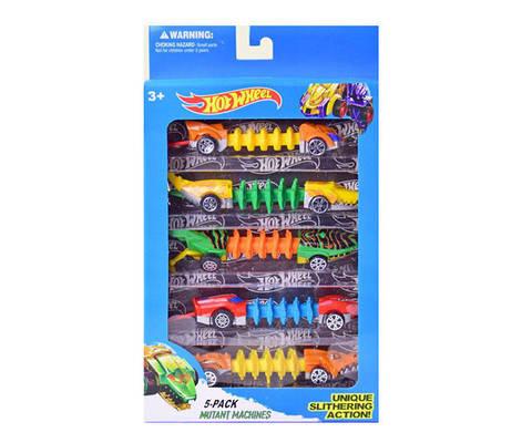 Машинки Hot Wheels Mutant Series, набор из 5 шт.