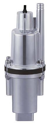 Насос  вибрационный 0.25kw  H60м Q1.08m3/ч верх забор каб.10м, фото 2
