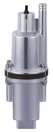 Насос  вибрационный 0.25kw  H60м Q1.08m3/ч верх забор каб.15м, фото 2