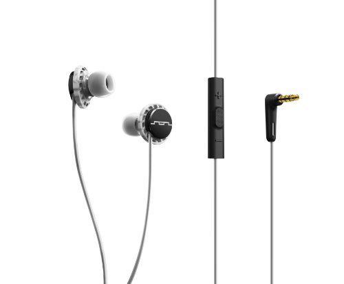 Наушники вставные Sol Republic Relays Sport 1131-41 с микрофоном и 3-х кнопочным пультом Black/White