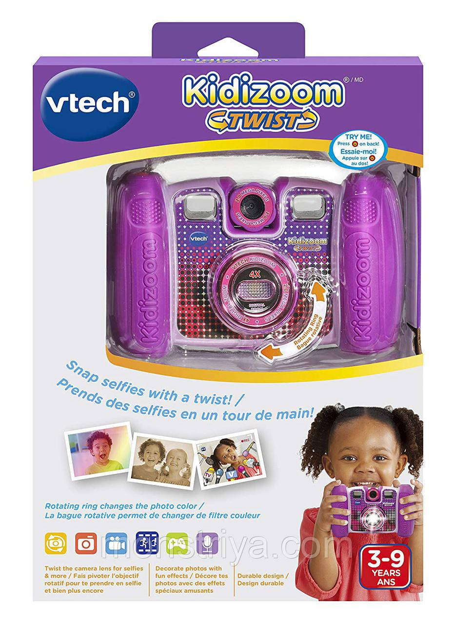 Детский цифровой фотоаппарат VTech Kidizoom Twist Connect