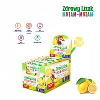 Леденец Mniam Mniam (лимон), 40 шт, фото 1