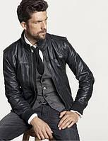 Кожаные куртки мужские зимние