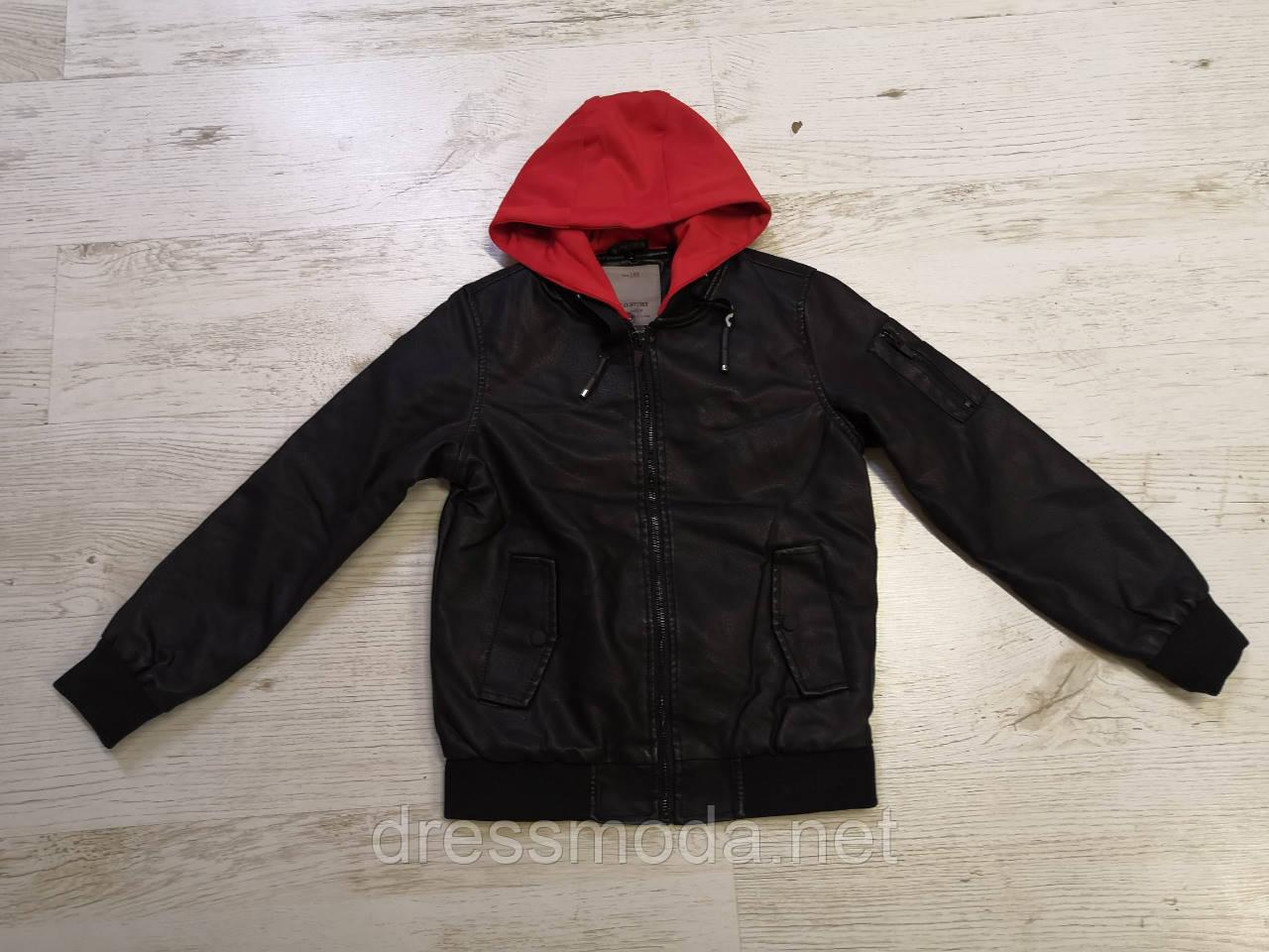 Куртки з хутром для хлопчиків Glo-Story 110-160р.р