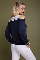 Кофта женская с вырезом на плечах, фото 2