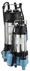 Насос  дренажно-фекальный 0.25kw H7.5м Q5m3/ч каб.5м с выкл. попав.
