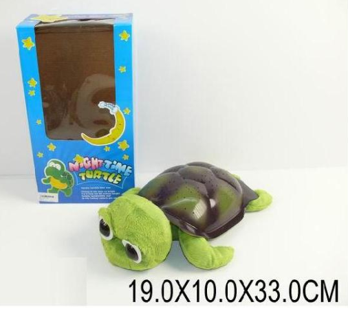 Детский музыкальный ночник-проектор 008 Черепаха  ***