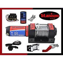 Лебедка электрическая для квадроциклов Titanium J8 3500 lbs 12V