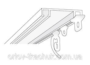 2-х полосный металлический карниз для штор