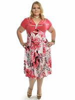 Женское летние платье большого размера, фото 1