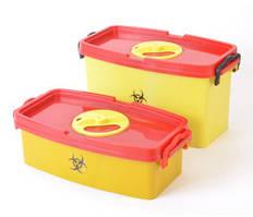 Емкости - контейнеры для утилизации медицинских отходов