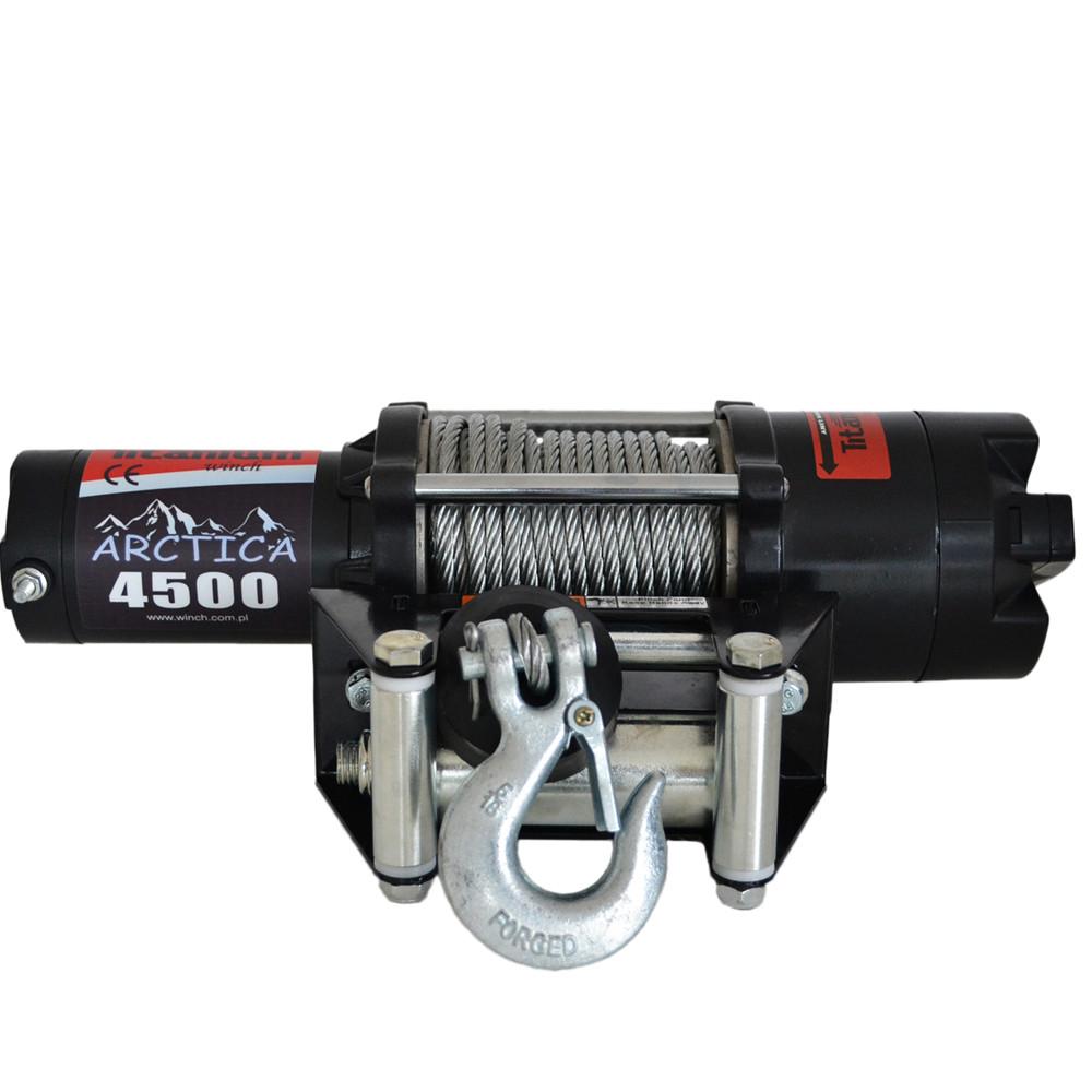 Лебедка электрическая для квадроциклов Titanium Arctica 4500 12V