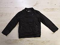Куртки кожзам на меху на мальчиков оптом, Glo-story, 110-160 рр, фото 1