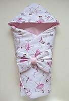 """Демисезонный конверт-одеяло на выписку """"Маленькая балерина"""""""