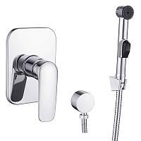🇨🇿 Imprese PRAHA new набор (смеситель скрытого монтажа с гигиеническим душем), артикул VR15030Z-BT