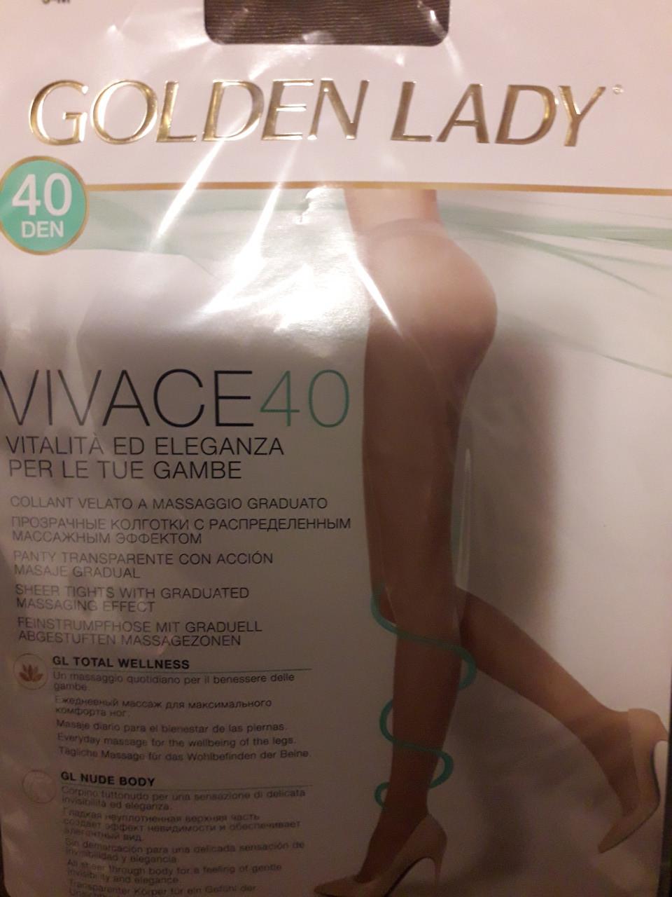 Колготки женские Golden Lady Vivace 40 den без шортиков
