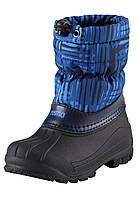 Зимние сапоги - сноубутсы для мальчика Reima 569324-6681. Размеры 24-35., фото 1