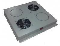 Hypernet DYN-FM-2F Модуль вентиляторный на 2 вентилятора, для напольных шкафов, Hypernet DYN-FM-2F