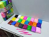 Масса для лепки 24 цвета + 3 стека, фото 3