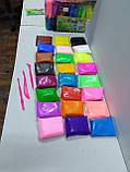 Масса для лепки 24 цвета + 3 стека, фото 8