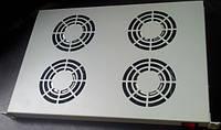 "Hypernet DYN-FS-4F Полка вентиляторная универсальная, 4 вентилятора, 19"" 1U, 220В, Hypernet"