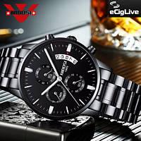 NIBOSI Quartz Наручные мужские часы, фото 1