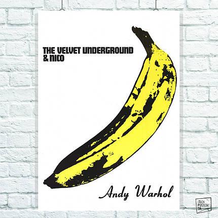 Постер The Velvet Underground. Размер 60x43см (A2). Глянцевая бумага, фото 2