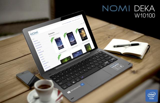 Ноутбук Nomi Deka 10 W10100