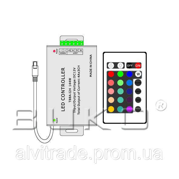 Контроллер для светодиодной ленты BUKO ВК8023 144W RGB