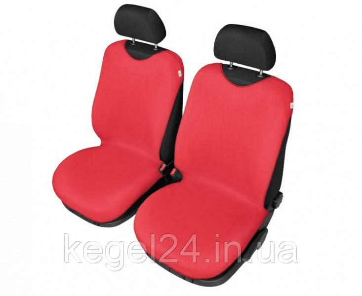 Захисні чохли-майки на сидіння Shirt Cotton, 2 шт червоні