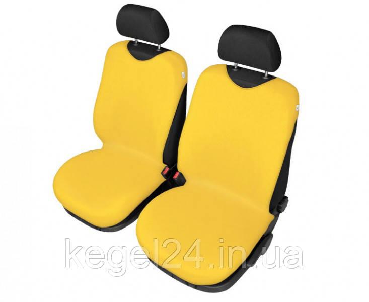 Защитные чехлы-майки на сидения Shirt Cotton, 2 шт желтые ОРИГИНАЛ! Официальная ГАРАНТИЯ!