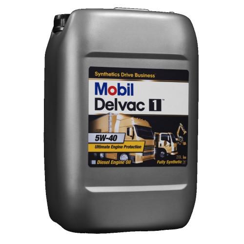 Моторное масло MOBIL DELVAC1   5W-40   20л
