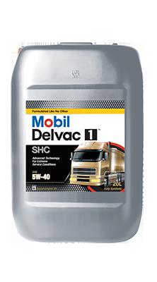 Моторное масло MOBIL DELVAC1  SHC  5W-40  20л