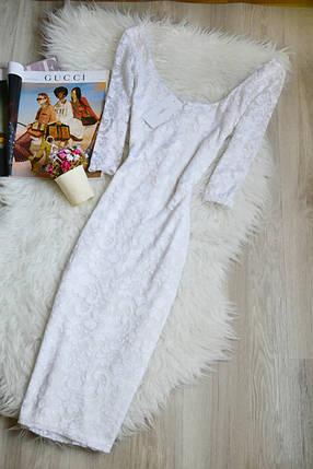 Новое кружевное миди платье New Look, фото 2
