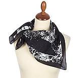 10736-18, павлопосадский платок (на голову, шейный) хлопковый (батист) с подрубкой, фото 2