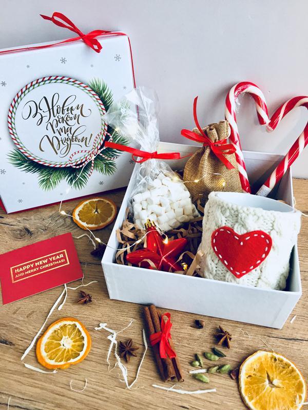 Подарочный набор для женщин С Новым годом и Рождеством