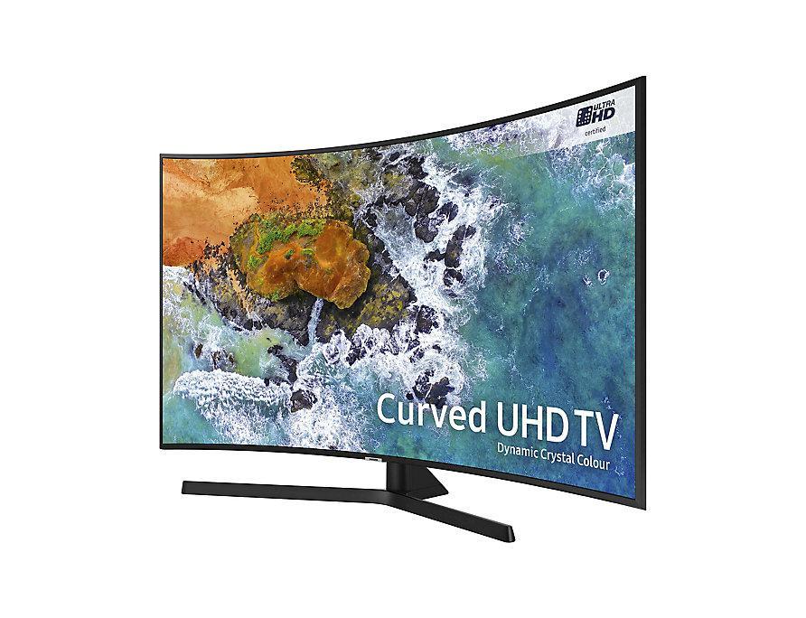 Телевизор Samsung UE49NU7500 (PQI1800Гц, 4K Smart, UHD Engine, HLG HDR10+, DDigital+ 20Вт, Curved DVB-C/T2/S2)