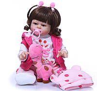 Лялька Реборн дівчинка Аріша. Арт. 1128, фото 1