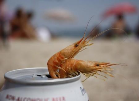 Креветки черноморские крупные сладкие 2,5 - 3,5 см