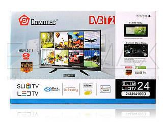 Телевизор LED диагональ 24 Domotec 24LN100D DVB-T2
