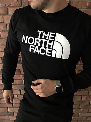 Осенний спортивный костюм The North Face black топ реплика, фото 2