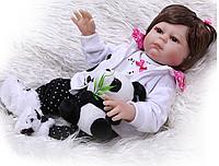 Силиконовая Коллекционная Кукла Реборн Reborn Ариша ( Виниловая Кукла ) Арт.1129, фото 1