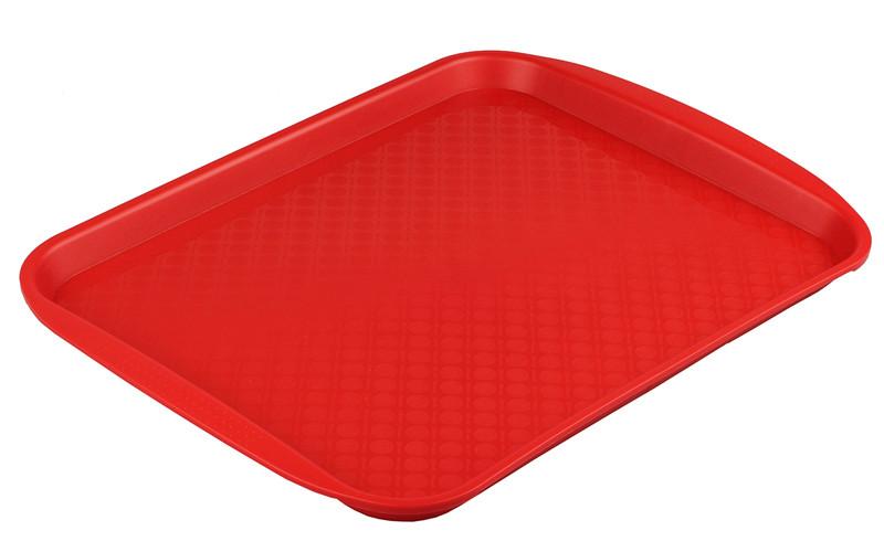 Подносы пластиковые, разносы с текстурированной поверхностью и ручками для сервировки в фаст фудах 40*30*2 б/у