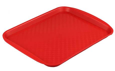 Подносы пластиковые, разносы с текстурированной поверхностью и ручками для сервировки в фаст фудах 40*30*2 б/у, фото 2