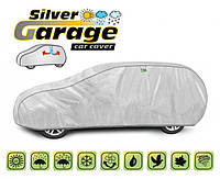Защитный тент для автомобиля Silver Garage, размер XL Hatchback
