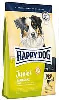 """Cухой корм """"Happy Dog Supreme Young Line Junior Lamb & Rice"""" 26/13 (для юниоров ср. и кр. пород с 7 по 15 мес)4 кг"""