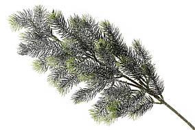 Ветка елки декоративная заснеженная, в упаковке 12 шт. 122-F42