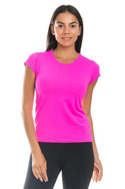 Спортивная футболка SW (размеры 42, 44, 46, 48, 50) женская футболка для спорта и фитнеса. Розовый