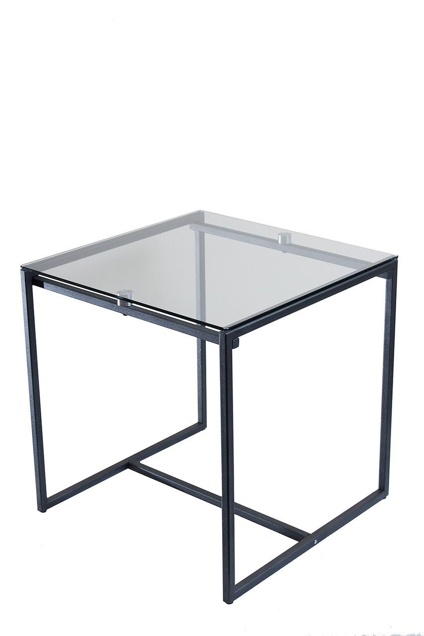 Cтол журнальный Commus Куб 400 Sm/черный